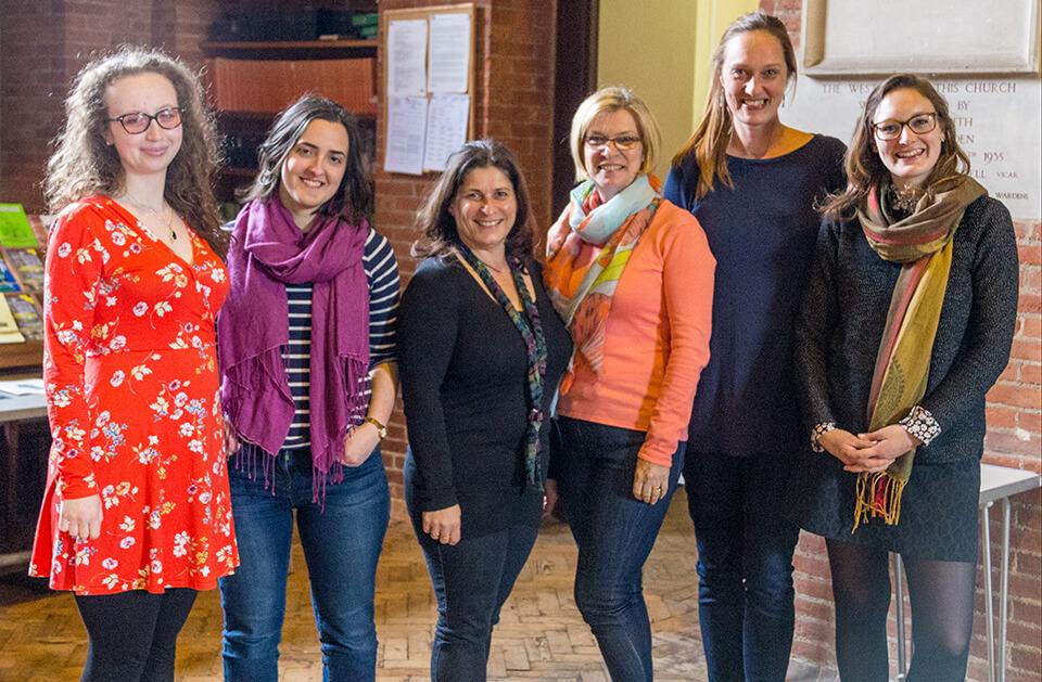 Soloists Rhiannon Randle, Rosalind Russell, Lorna Perry, Cathryn Caunt, Annika Lindskog, Heather Lowe