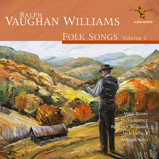 Vaughan Williams Folk Songs 1 CD